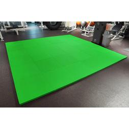 "MEISTER 1.5"" PUZZLE FLOOR MATS *EXTRA THICK* Home Gym Play F"