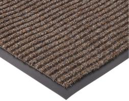 NOTRAX 117S0046BR Carpeted Entrance Mat, Brown, 4 x 6 ft.