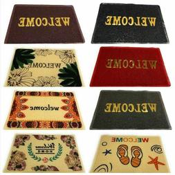 "24 X 18"" Non Slip Welcome Entry Floor Door Rug Mat Outdoor I"