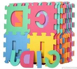 26 SQ Ft Learning Alphabet Letter Puzzle Foam Safety Play Ma