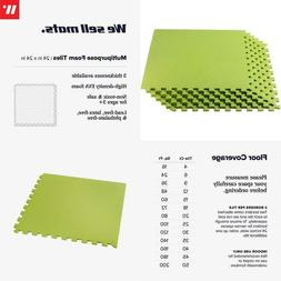 We Sell Mats 3/8 Inch Thick Multipurpose Exercise Floor Mat