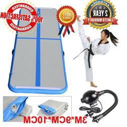 3 X 10FT Air Track Floor Home Inflatable Gymnastics Tumbling