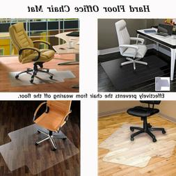 36*48 Wood Hard Floor Matte Home Office Computer Work Chair