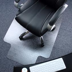 """Marvelux 36"""" x 48"""" Polycarbonate  Lipped Chair Mat for Low,"""