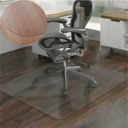"36x48""Hard Wood Floor Home Office PVC Floor Mat Square for O"
