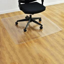 "36"" x48"" Hard Wood Floor Home Office PVC Floor Mat Square Of"