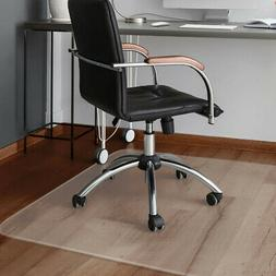 Costway 47'' X 59'' Pvc Chair Floor Mat Home Office Protecto