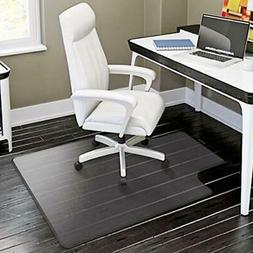 "48"" x 36"" PVC Chair Office Home Desk Floor Mat for Tile Wood"