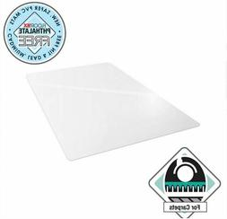 48 X 60 Office FLOOR MAT ONLY Heavy Duty Clear Protector for