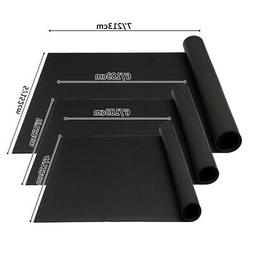 6'/7' Extra Thick Yoga Floor Mat PVC Fitness Non-slip Gym Eq
