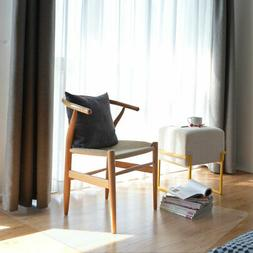 """60x46"""" Rectangle PVC Floor Mat Protector 2.5mm for Hard Wood"""