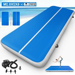 6x20FT Airtrack Air Track Floor Home Inflatable Gymnastics T