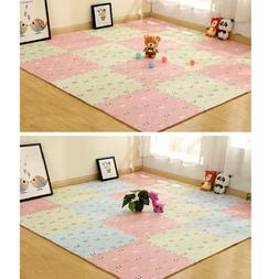 8x Children Foam Puzzle Play Floor Mat Pad Game Gym Carpet C