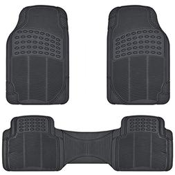BDK ProLiner Heavy Duty Rubber Auto Floor Mats Liner for Aut