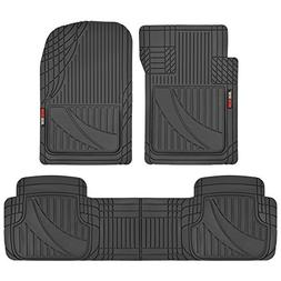 Motor Trend OF-793-BK FlexTough Advanced Performance Mats-3p