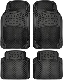 OxGord 4pc Set Tactical Heavy Duty Rubber Floor Mats