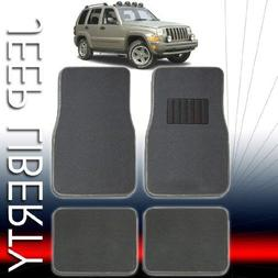 QUALITY UNIVERSAL CARPET CAR FLOOR MATS SET FOR JEEP LIBERTY