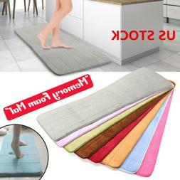 Absorbent Memory Foam Carpet Bathroom Non-slip Bedroom Floor