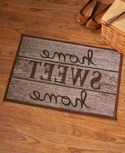 Accent Rug Floor Mat Home Sweet Home Themed Decor Tapestry P