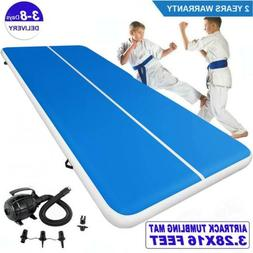 Air Track 16FT Inflatable Airtrack Tumbling Floor Gymnastics