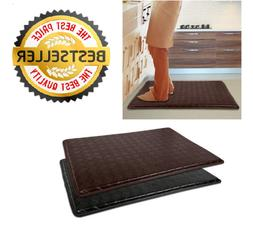 "Anti-Fatigue Floor Mat 18"" x 30"" Comfort Memory Foam Kitchen"