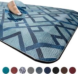 Anti-Fatigue Floor Mat Rectangle Relieves Foot, Knee  Back P