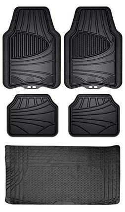 Custom Accessories Armor All 5-Piece Floor Mat Set with 6-Mo