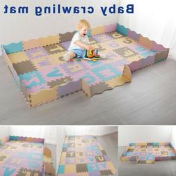 Baby Puzzle Exercise Mats Crawling Playing Mat Interlocking
