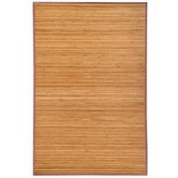 Yaheetech Bamboo Area Rug Carpet 5'x 8'/4' x 6'Brown Natural
