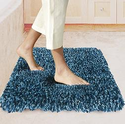 "Bath Mats Non Slip Bathroom Rugs 34""X 20"" with Microfiber Sh"