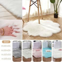 Bedroom Soft Fluffy Rugs Anti-Skid Shaggy Area Rug Dining Ro
