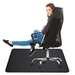Office Chair Mat for Hardwood Floor: 35x47 inches Straight E
