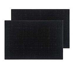 black mat rubber bar service