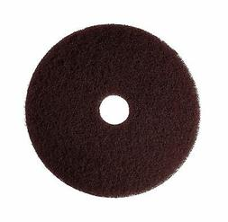 "3M Brown Stripper Pad 7100, 12"" Floor Stripper Pad  12 inche"