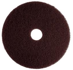 "3M Brown Stripper Pad 7100, 12"" Floor Stripper Pad"