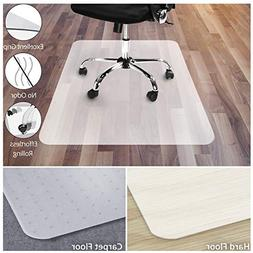 Office Chair Mat for Hardwood Floor | Opaque Office Floor Ma