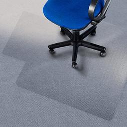 """Office Marshal® Premium Chair Mat with Lip - 36"""" x 48"""" - Ca"""