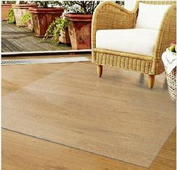 Home Cal Chair table mat X2 for Floor Protection Rectangular