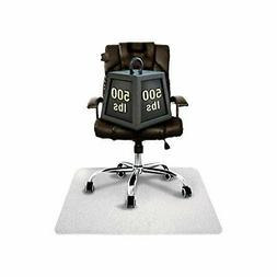 Cleartex MegaMat Heavy-Duty Polycarbonate Chair Mat for Hard
