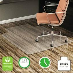 deflecto CM21112 EconoMat Anytime Use Chair Mat for Hard Flo