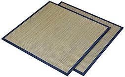 Organize It All Connectable Floor Mat  - Tan/Navy