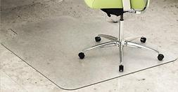 DEFLECT-O EnvironMat Recycled Anytime Use Chair Mat for Hard