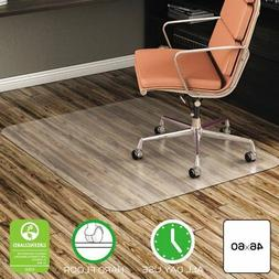 deflecto CM21442F 46 x 60 Clear EconoMat Anytime Use Chair M