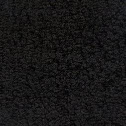 Deluxe Carpet 1 Inch Thick Solid Black 3' x 6' Anti-Fatigue