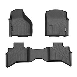 COOLSHARK Dodge Ram 1500 Floor Mats, Floor Liners Custom Fit