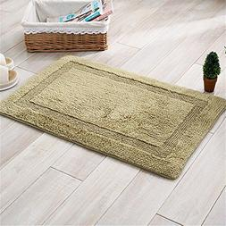Double-sided thick absorbent mats thick chenille living room