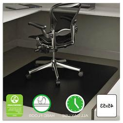 EconoMat All Day Use Chair Mat for Hard Floors, 45 x 53, Rec