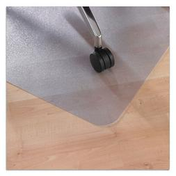 """Ecotex Recycled PET Chair Mat for Hard Floors, 36"""" x 48"""", Re"""