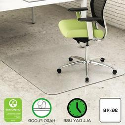 Deflect-o EnvironMat Rectangular Chair Mat - Hard Floor - 48