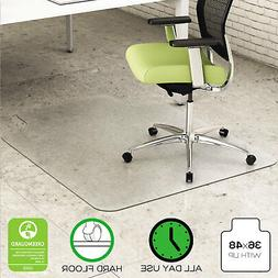 EnvironMattm Hard Floor Chair Mat, 0.63 H x 36 W x 48 D